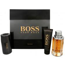 Boss The Scent - EDT 100 ml + tuhý deodorant 75 ml + sprchový gel 50 ml