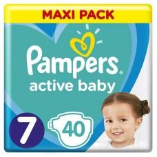 Pampers Plenky Active Baby velikost 7