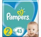 PAMPERS New Baby-Dry velikost. 2 (4-8 kg)  – jednorázové pleny