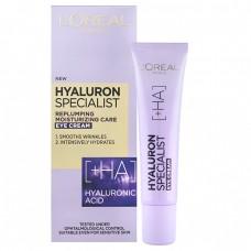 L´Oréal Paris Vyplňující hydratační oční krém Hyaluron Specialist