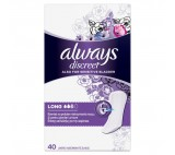 Always Discreet Incontinence Liners Long Also For Sensitive Bladder