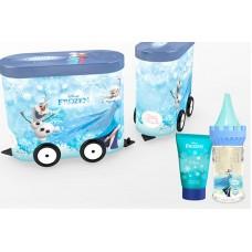 EP Line Disney Frozen - EDT 50 ml + sprchový gel 75 ml + plechový vagónek