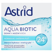 Astrid Aqua Biotic Day and Night Cream for Normal and Combination Skin 50ml
