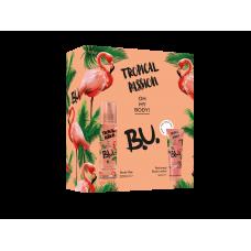 B.U. Tropical Passsion dárková sada tělový sprej + tělové mléko