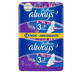 Always Platinum Night hygienické vložky s křidélky