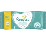 Pampers Sensitive Baby Wipes 1 Packs = 80 Wipes