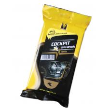 Coyote Cockpit jednorázové ubrousky s vůní vanilky