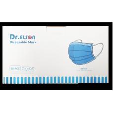Dr. Elson rouška chirurgická KOMFORT jednorázová 3vrstvá