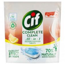 CifAllin1LemonTablets for the Dishwasher 26 pcs