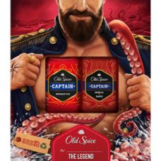Old Spice Captain Vánoční Dárková Sada Pro Muže