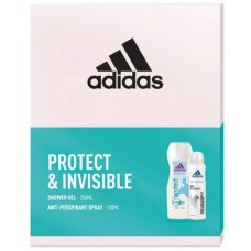 Adidas Protect & Invisible Cosmetics Set for Women