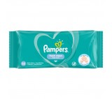 Pampers Fresh Clean Baby Wipes 1 Packs = 52 Wipes