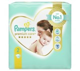 Pampers Premium Protection Size 2, Nappy x23, 4kg-8kg