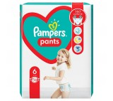 Pampers Pants Size 6, 19 Nappies, 15kg+