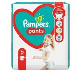 Pampers Pants Size 6, 25 Nappies, 15kg+