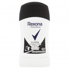 Rexona Invisible Black + White Antiperspirant 40ml