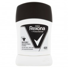 Rexona Invisible Men Black + White Antiperspirant Stick 50ml