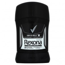 Rexona Invisible Men Black + White Antiperspirant Stick 50ml