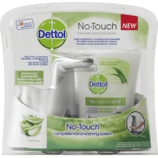 Dettol Soft on Skin No-Touch Complete Hand Washing System 250ml