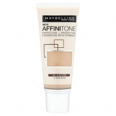 Maybelline New York Affinitone 17 Rose Beige Hydrating Make-Up 30ml
