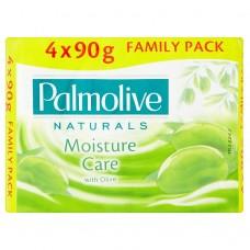 Palmolive Naturals Moisture Care Toilet Soap 4 x 90g