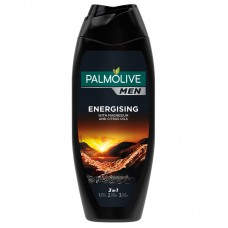 Palmolive Men Energising 3 in 1 Shower Gel for Body, Face and Hair 500ml