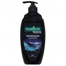 Palmolive Men Refreshing 2in1 Body & Hair Shower Shampoo 750ml
