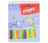 Happy 1 Newborn Disposable Diapers 2-5kg 42 pcs