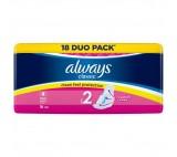 Always Classic Long Sanitary Towels Wings 18x