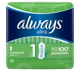 Always Ultra Normal (Size 1) Sanitary Towels 12 Pads