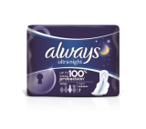 Always Ultra Night (Size 3) Sanitary Towels Wings 12 Pads