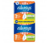 Always Ultra Normal (Size 1) Sanitary Towels Wings 20 Pads