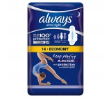 Always Ultra Night (Size 3) Sanitary Towels Wings 14 Pads
