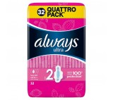Always Ultra Long (Size 2) Sanitary Towels Wings 14 Pads