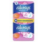 Always Sensitive Normal Ultra (Size 1) Sanitary Towels Wings 20 Pads