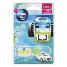 Ambi Pur Car Ocean Mist Starter Kit 7 ml