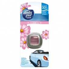 Ambi Pur Car Clip Air Freshener Flowers & Spring 1 Unit