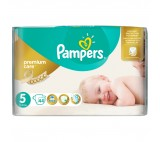Pampers Premium Care Size 5 (Junior) 11-18kg, 44 nappies