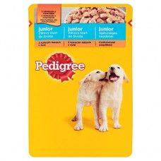Pedigree Vital Protection Junior Complete Feed for Puppies with Chicken and Rice in Jelly 100g
