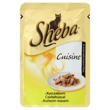 Sheba Complete Pet Food for Adult Cats with Chicken 85g