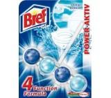 Bref Power Aktiv Ocean Breeze 4 Function Formula Toilet Rim Block 50g