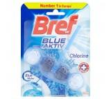 Bref Blue Aktiv Fragrance Chlorine Solid Toilet Block 50g