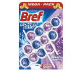 Bref Power Aktiv Fragrance Boost Lavender Solid Toilet Block 3 x 50g