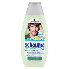 Schauma Anti-Dandurff x3 Fresh Citrus Shampoo 400ml