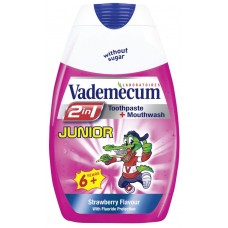 Vademecum Junior Toothpaste 2in1 Strawberry 75ml
