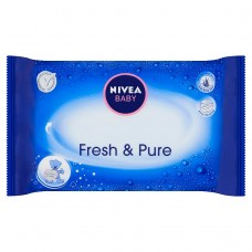 Nivea Baby Fresh & Pure Wipes 63 pcs