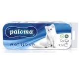 Paloma toaletní papír bez parfemace 3vrstvý