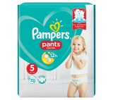 Pampers Pants Size 5, 22 Nappies, 11-18kg, Absorbing Channels