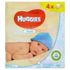 Huggies Pure Baby Wipes 224 pcs