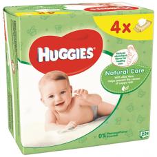 Huggies Natural Care Baby Wipes 224 pcs